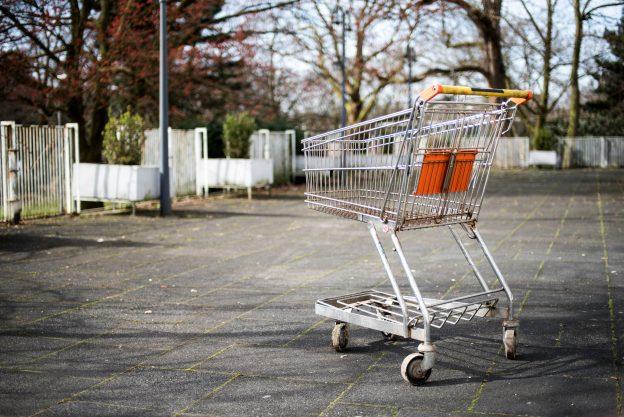 Wortsucht – Einkaufswagen